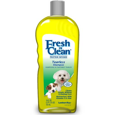Fresh n Clean Tearless Puppy Shampoo 16 Oz.