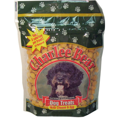 Charlee Bear® Cheese & Egg Dog Treats 20042