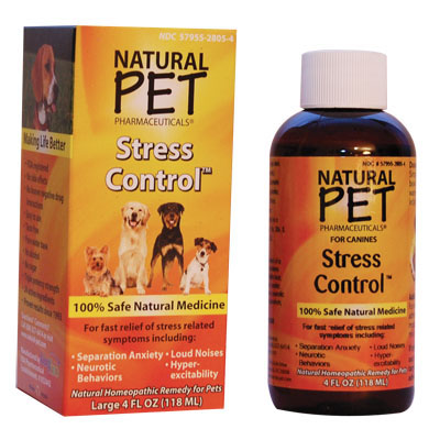 Natural Pet Pharmaceuticals ® Stress Control ™ For Canines 4 oz. 498117