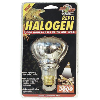 Halogen Heat Lamp For Reptile Tanks 9066B