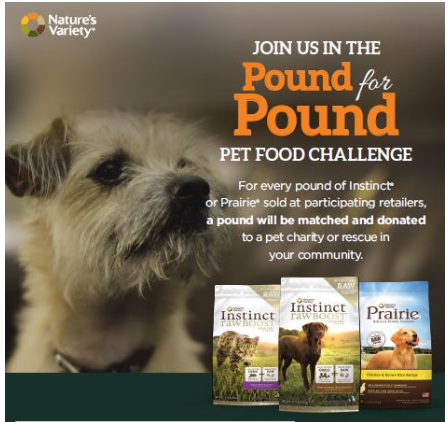 Pound for Pound Pet Food Challenge