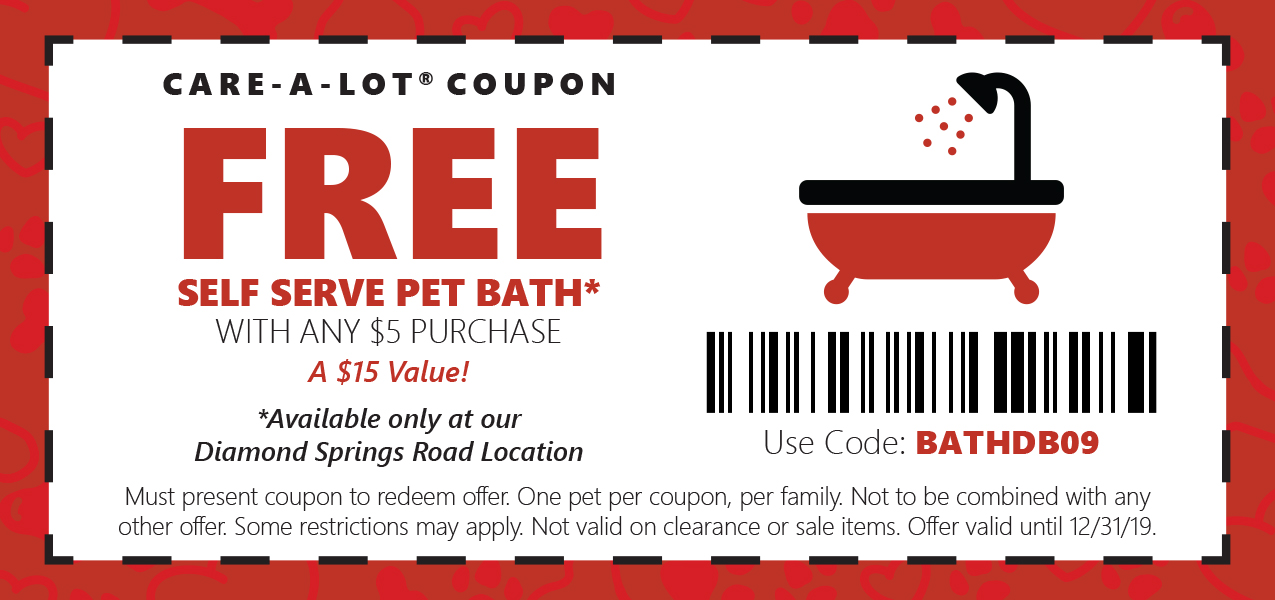 Free Bath Coupon