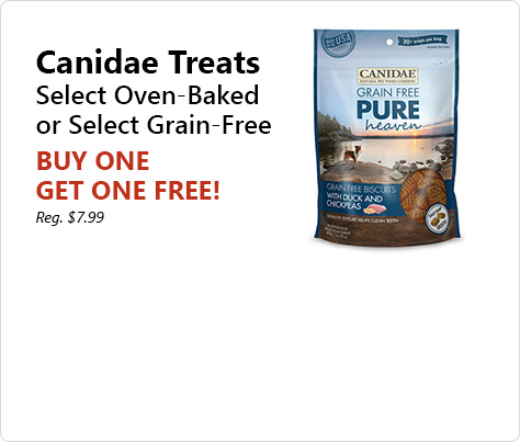 Oven-baked or grain-free crunchy treats make for great tasting rewards.