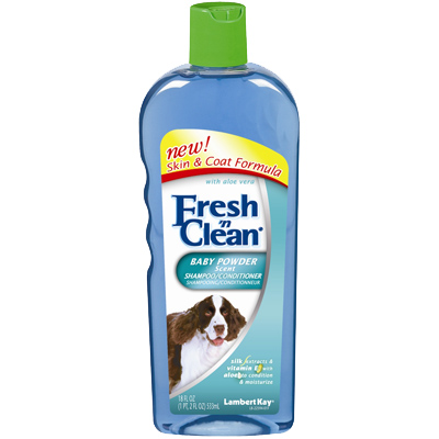 Fresh n Clean Baby Powder Shampoo 16 Oz.