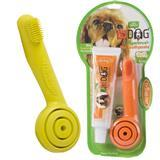 Triple-Pet® EZ DOG® Fingerbrush and Dental Care Kit 22055b
