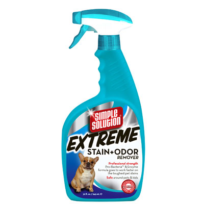 Simple Solutions® Extreme Stain & Odor Remover Spray 32 oz. 23611