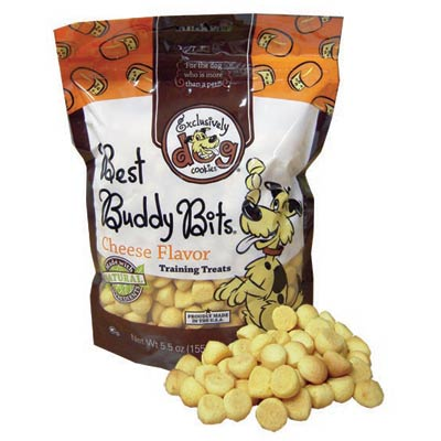 Exclusively Dog® Best Buddy Bits Cheese 5.5 oz. 26362