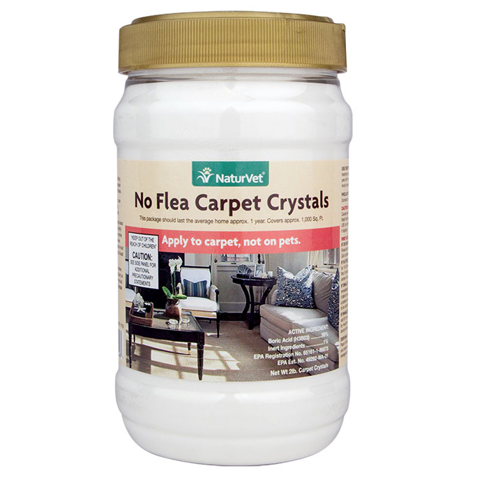 NaturVet® No Flea Carpet Crystals 2 lbs. 2720