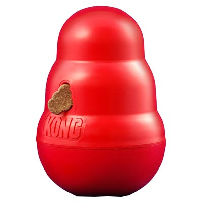 Kong® Wobbler™ Dog Treat Dispenser 32143