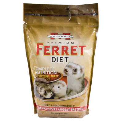 Marshall Premium Ferret Diet Food 50273B