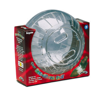 Clear Hamster Ball 7 in.