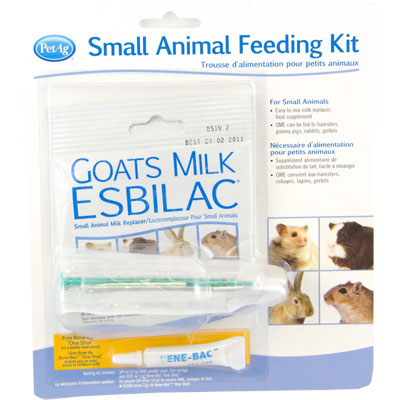PetAg® Goats Milk Esbilac® Small Animal Feeding Kit 52657