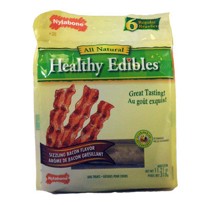 Nylabone Healthy Edibles Dog Treats Value Pack 6305e