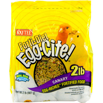 Kaytee® Forti-Diet® Egg-Cite!™ Canary Food 2 lbs.