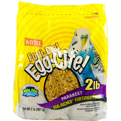 Kaytee® Forti-Diet® Egg-Cite!™ Parakeet Food