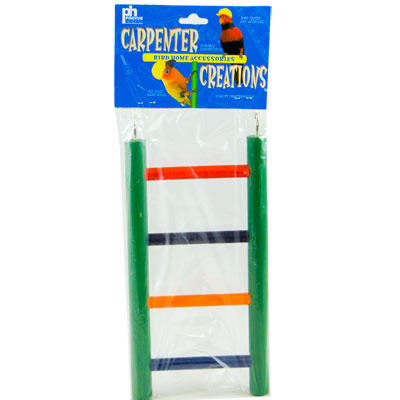 "8"" Colored Solid Wood Ladder"