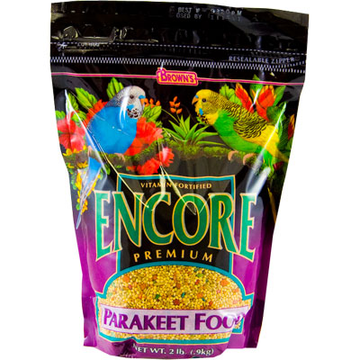 FM Brown's Encore Premium Parakeet Food 87723b