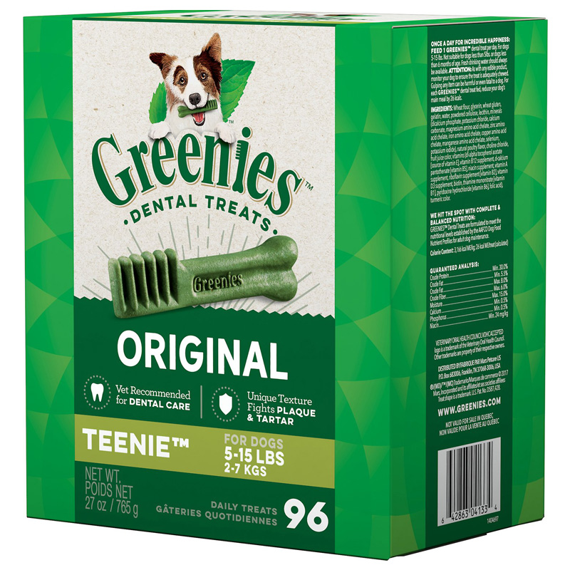Greenies ® Chewy Texture Dog Treat Tub-Pak 27 oz. 96140b