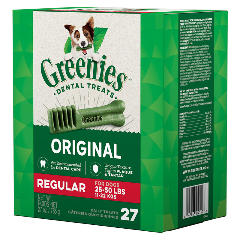 Greenies® Chewy Texture Dog Treat Tub-Pak 27 oz. 96140b