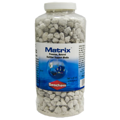 Seachem™ Matrix™ Natural Biofilter Support Media Z00011601170