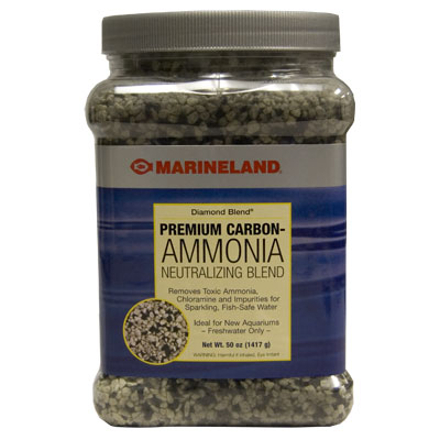 Marineland® Diamond Blend® Premium Carbon-Ammonia Neutralizing Blend z04743190144b