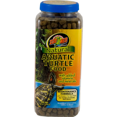 Zoo Med™ Natural Aquatic Turtle Food Maintenance Formula z09761240111b