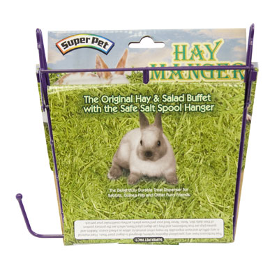Super Pet® Hay Manger w/ Salt Hanger