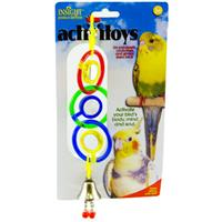 JW® Mirror Activitoys® Triple Mirror with Bell™ for Birds Z61894031049