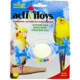 JW® Mirror Activitoys® Rattle Mirror™ for Birds Z61894031055