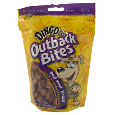Dingo® Soft and Chewy Dog Treats Outback Bites™ 7.5 oz. 672943