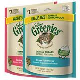 Feline Greenies® Dental Cat Treats 5.5 oz. I001366b