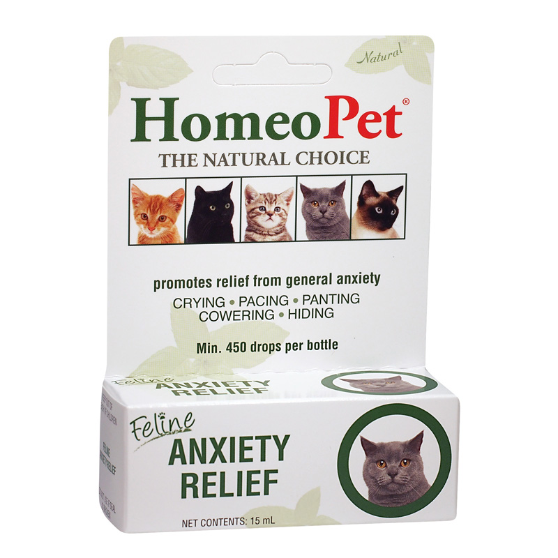 Homeopet Anxiety Relief for Cats 15 ml 74442