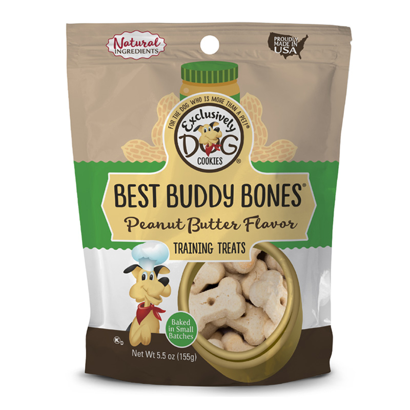 Exclusively Dog® Best Buddy Bones® Peanut Butter 5.5 oz. 76373