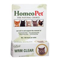 Homeopet® WRM Clear for Cats 15 ml 77559
