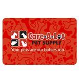 Care-A-Lot® Pet Supply Logo Gift Card $100 LogoGiftCard