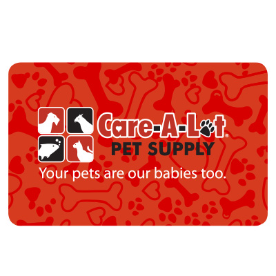 Care A Lot Pet Supply Gift Card GCACT-AIRDALEb