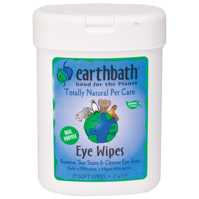 Earthbath Eye Wipes, 25ct 14731