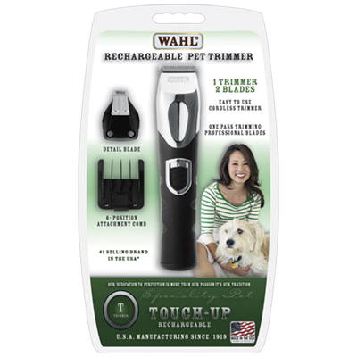 Wahl® Dual Head Rechargeable Touch Up Trimmer 25809b