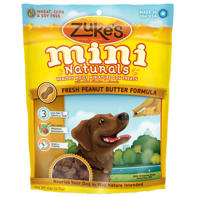 Zuke's® Mini Naturals™ Healthy Moist Dog Treats Peanut Butter 482812b