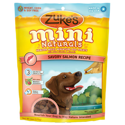 Zuke's® Mini Naturals™ Dog Treats Salmon  482813b