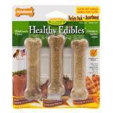Nylabone Variety Pack Healthy Edibles Roast Beef, Chicken and Bacon 3 1/2 inch Petite 70531