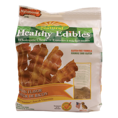 Bacon with Vitamins Nylabone Healthy Edibles Regular 12 Pack