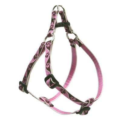 "3/4"" x 15-21"" Tickled Pink Step-In Harness 226816"