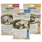Sentry ® Natural Defense ™ Flea and Tick Control for Dogs Natural Flea and Tick Squeeze On 10221b