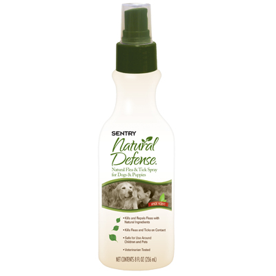 Sentry ® Natural Defense Flea & Tick Dog Spray ™ 8 oz. 10225