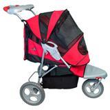Pet Gear Inc. AT3 All Terrain Pet Stroller Red Poppy 10732
