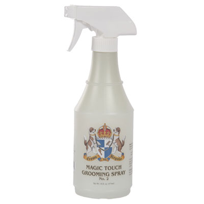Crown Royale Magic Touch Grooming Spray 16 Oz. Ready To Use Medium Texture (2) 1084