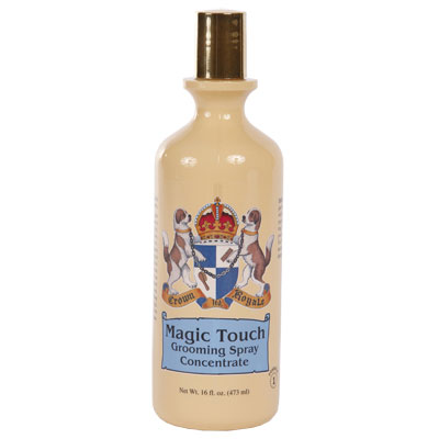 Crown Royale Magic Touch Grooming Spray 16 Oz. Concentrate 15:1 Fine Texture (1) 1098