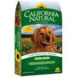 California Natural® Lamb Meal & Rice Adult Large Bites Dog Food 111255b