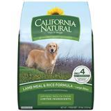 California Natural® Lamb Meal & Rice Adult Large Bites Dog Food 30 lbs. 111257